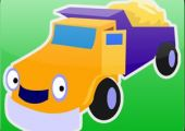 Cars and Trucks! Shape Puzzles