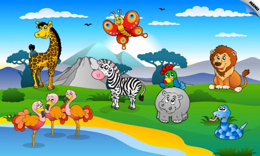 Kids Amp Toddler Puzzle Animals Android Game